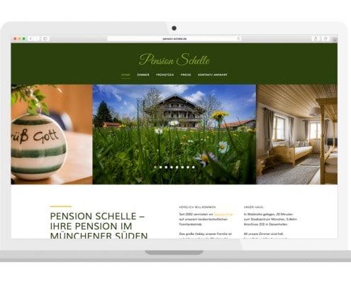 Homepage responsiv | PENSION SCHELLE