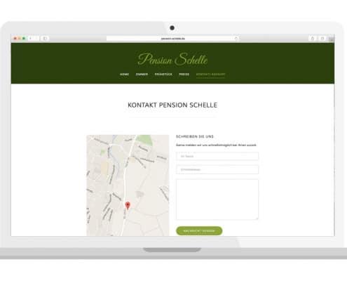 Homepage Kontakt | PENSION SCHELLE