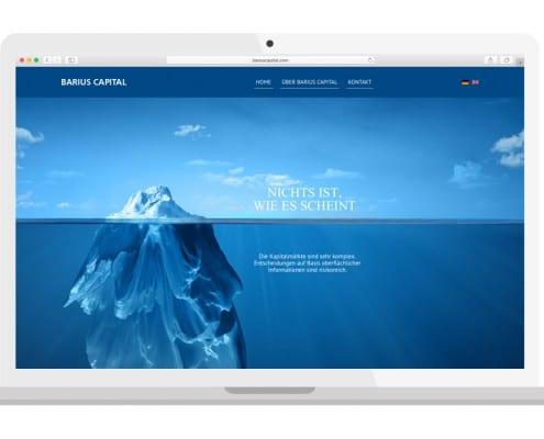 Barius Capital Homepage