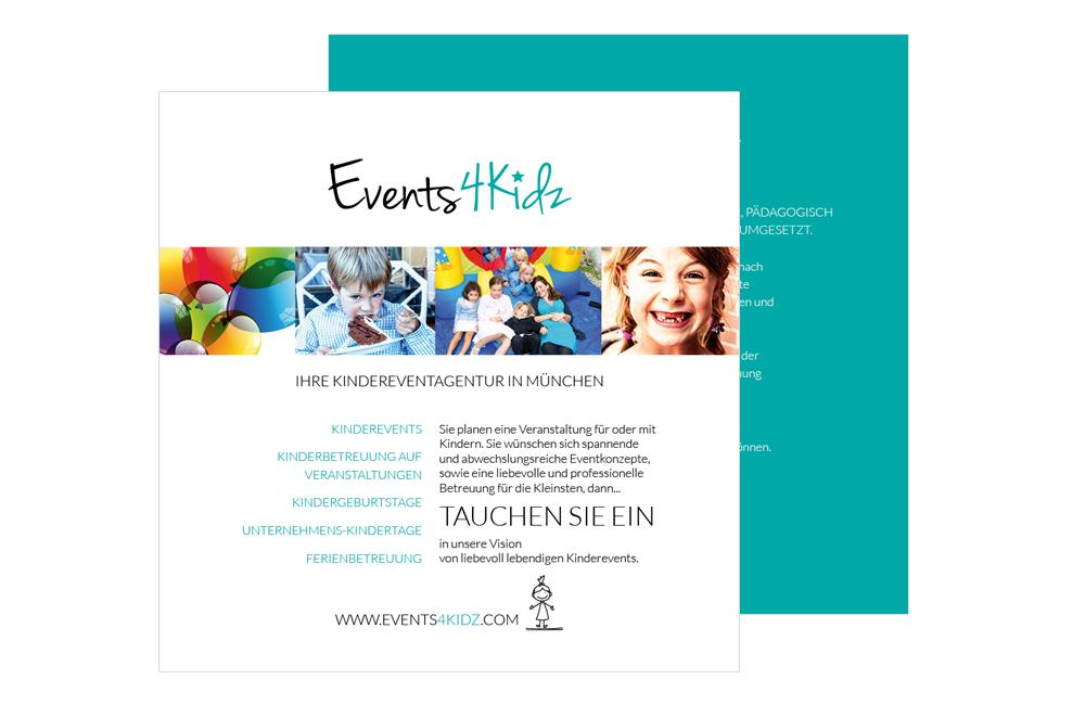 Events4Kidz Flyer