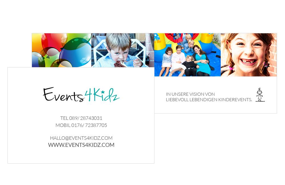 Events4Kidz Visitenkarte
