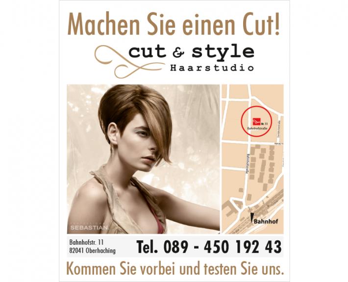 Schild Bahnhof | cut & style ©