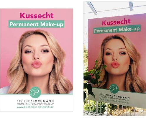 Plakat Permanent Make-up Plochmann Starnberg
