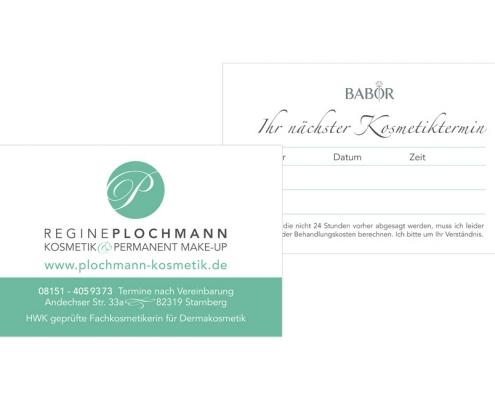 Visitenkarten Kosmetik Starnberg | konzeptonline Ihre Grafikagentur