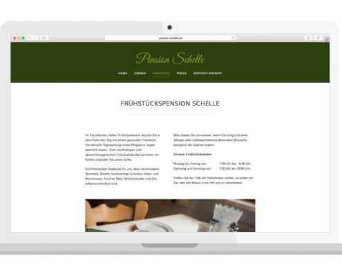 Homepage Frühstück | PENSION SCHELLE