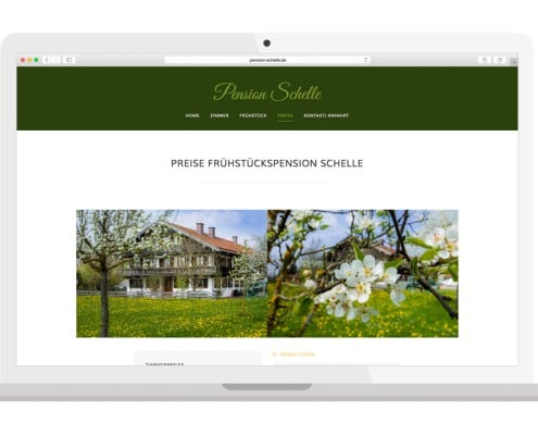 Homepage Preise | PENSION SCHELLE