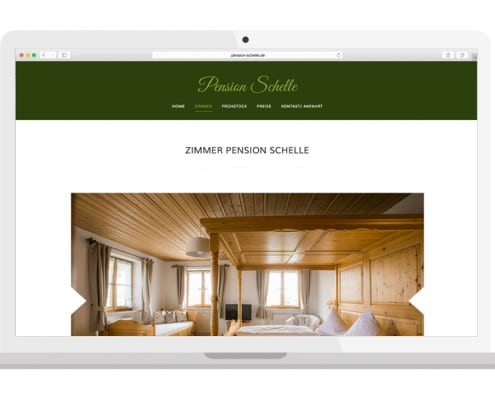 Homepage Zimmer | PENSION SCHELLE
