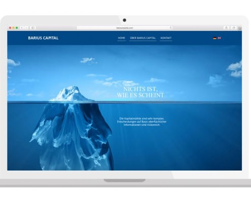 Barius Capital Homepage