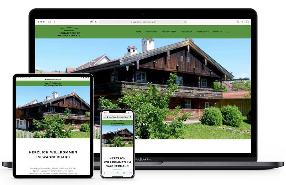 Wagnerhaus Oberhaching Homepage